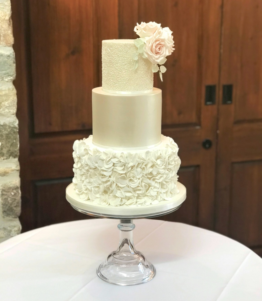 Miskin Manor Wedding Cake